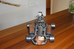 Karting de décoration