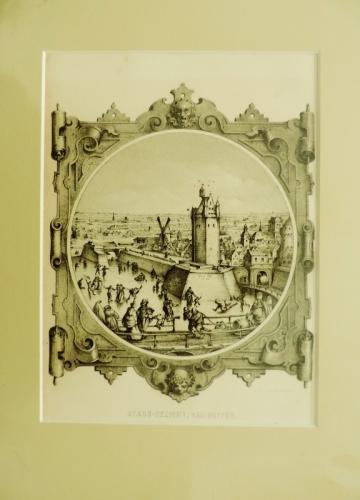 Gravures hollandaises 18ème. siècle