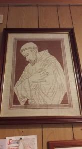 Tableau de Saint François