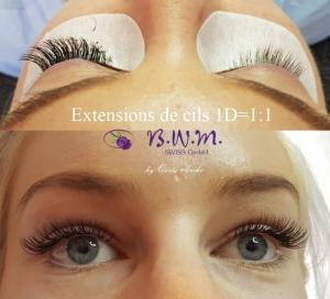 Extensions de cils 1D-8D réduction de 25% !