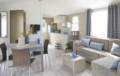 Landes locations  mobil homes luxe neuf