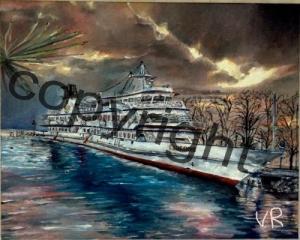 Les bateaux du lac Léman