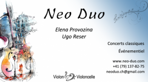 Duo Violon Violoncelle NEO-DUO