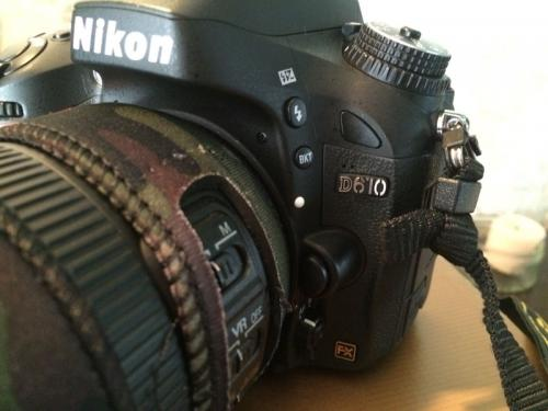 Nikon D610-full frame digital slr fx