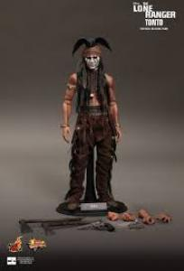 Hot toys Lone Ranger Tonto (Johnny Depp) 1/6