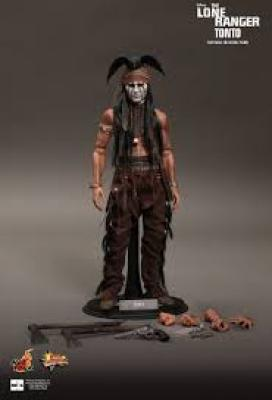 Hot toys Lone Ranger Tonto (Johnny Depp) 1/6