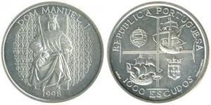 1000 Escudos - Manuel I