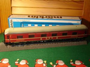 Märklin HO 4064 train rapide wagon-lit, DSG, métal
