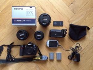 Nikon reflex D90 kit