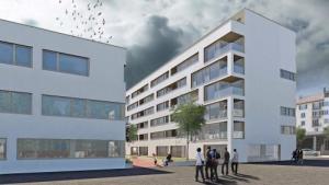 En construction, appartements en coopérative, 3,5 pièces, quartier