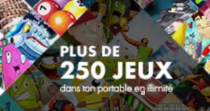 250 jeux mobiles sur m.Playweez