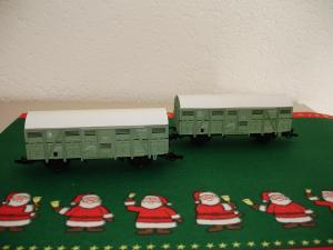 Set de 2 Roco HO 44322A – (46440) SNCF wagons à bovins