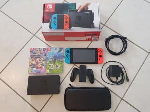 Nintendo Switch Komplet Set!