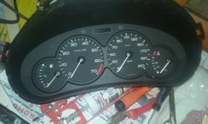 Compteur kilométrique Peugeot 206