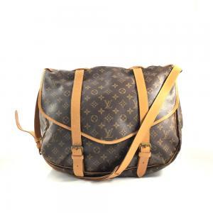 Grand  sac bandoulière   Louis Vuitton saumur  43
