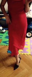 Robe de soiree rouge