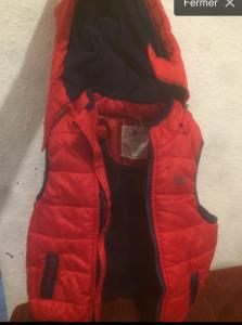 Gillet Orquestra hiver taille 74
