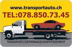 transport automobile caravane