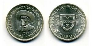 20 Escudos - Infante D. Henrique