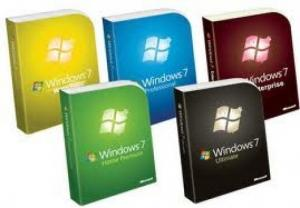 DVD Windows 7 toutes versions x32 et x64