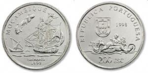 200 Escudos - Moçambique