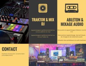 Formation Ableton Live, traitement audio et mix dj