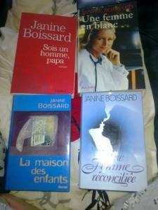 Livres de Janine Boissard