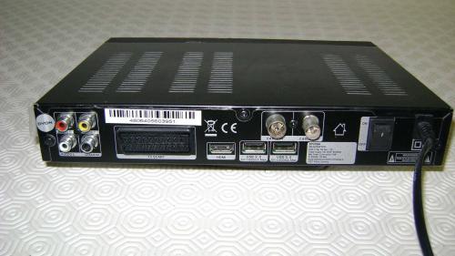 Récepteur câble HD Dyon Raptor fonction enregistrement