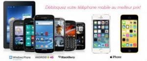 Déblocages téléphone à prix fracassant