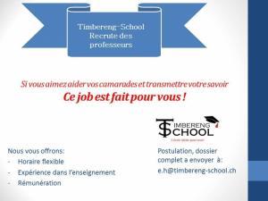 Timbereng-School Recrute