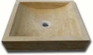 Vasque en pierre marbrière