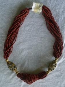 Joli collier traditionnelle africain