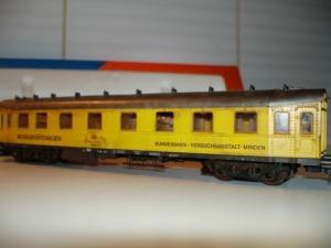 Roco 4291B HO - Wagon de mesures ep III