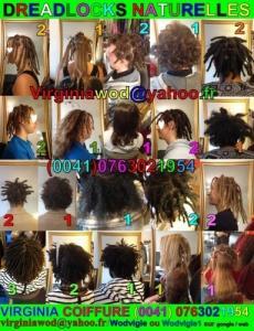 DREADlocks pour tous types de cheveux