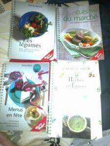 Livres de cuisine Betty Bossi