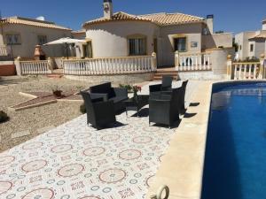 loue villa avec piscine région Alicante