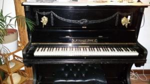 Piano ancien, années 1800, bas prix