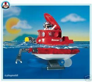 A vendre sous-marin playmobil