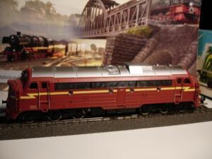 Märklin HO 3068 Locomotive diesel BR DI 3 er NSB ref 3.641