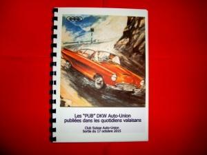 """Les """"Pub"""" DKW Auto-Union en Valais"""