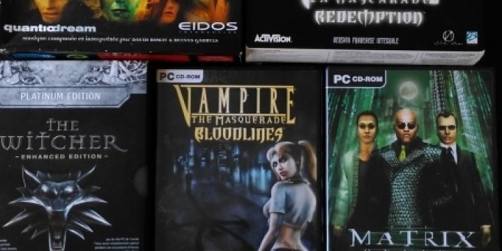 A vendre jeux PC old school en parfait état de marche!