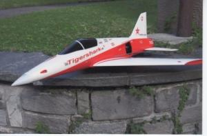 Avion à turbine électrique Tiger Shark