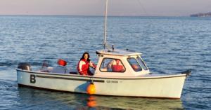 Bateau pêche-promenade - modèle unique