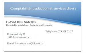 Services de traduction, comptable et fiscal