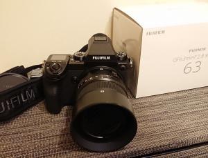 Fujifilm GFX 50S 51.4MP W / 63mm F / 2.8 R WR +