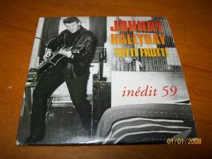 cd collector jonny hallyday