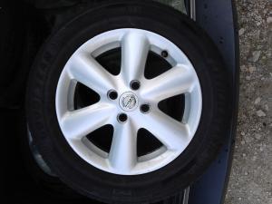 Jantes alu 15x 15,5 J 45 + pneus été 185/65 R15 pour Nissan