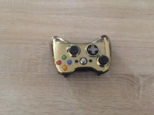 Xbox 360 manette gold