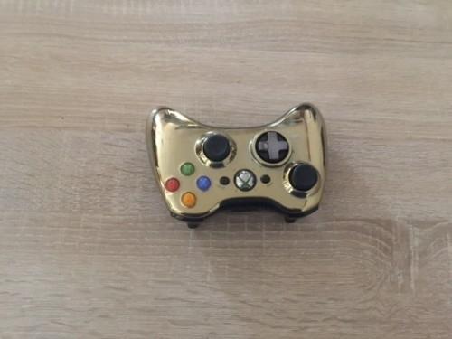 Xbox 360 manette gold