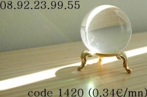 Voyance au:08 92 23 99 55 code:1420